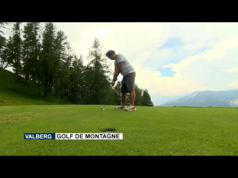 Valberg: mountain golf course