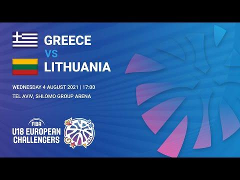 Ελλάδα - Λιθουανία (European Challenger 2021) Οικονομόπουλος #9