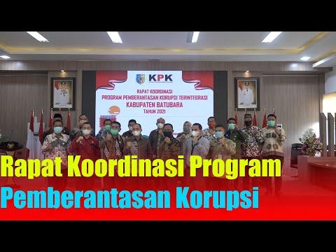 Rapat Koordinasi Program Pemberantasan Korupsi Terintegrasi di Batu Bara