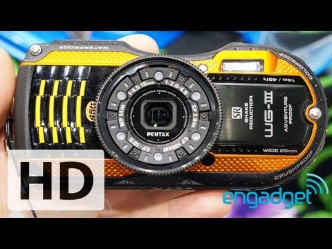Pentax Optio WG-3 Hands-On at CP+ 2013 | Engadget