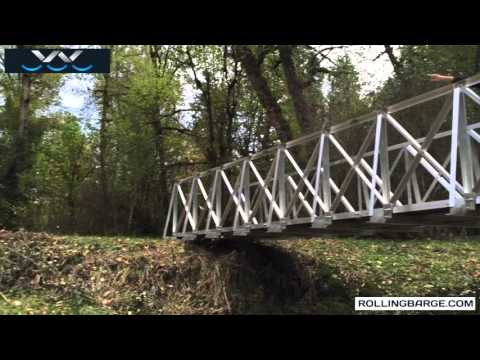 Get a Trail Bridge into a Remote Location