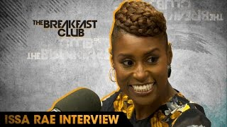 "Comedian, writer, producer, actress Issa Rae stopped by The Breakfast Club to discuss her HBO Series ""Insecure"", her book ..."