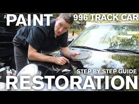 How to Restore a Black 996 Porsche Track Car