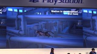 Gameplay off-screen - Stazione ferroviaria in cat-cam