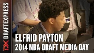 2014 Elfrid Payton Interview - DraftExpress - NBA Draft Media Day