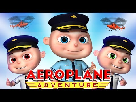 Zool Babies Series - Aeroplane Adventure Episode | Cartoon Animation For Children | KIds Shows