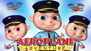 Video Zool Babies Series - Aeroplane Adventure Episode | Cartoon Animation For Children | KIds Shows MP3, 3GP, MP4, WEBM, AVI, FLV Maret 2019