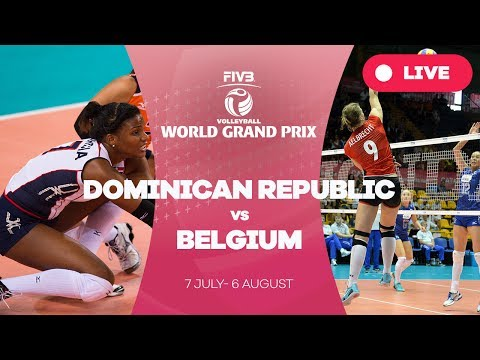 Dominican Republic v Belgium - Group 1: 2017 FIVB Volleyball World Grand Prix