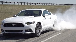 2015 Ford Mustang GT - Line-Lock burnout feature
