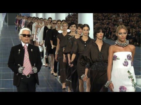 Chanel Collection Femme Printemps Eté 2013 à Paris (itw)