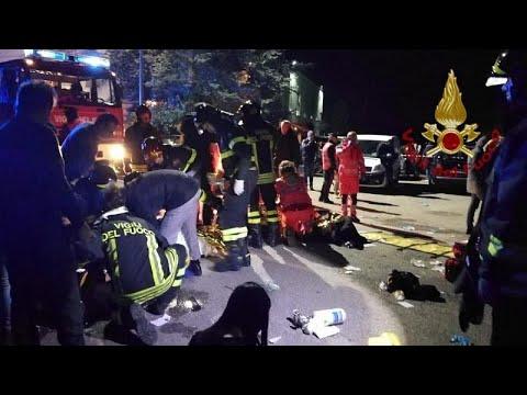 Ιταλία: Εκατοντάδες ποδοπατήθηκαν σε κλαμπ στην Ανκόνα…