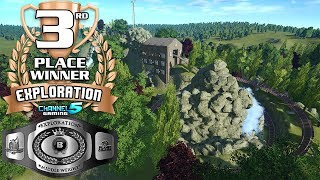 Channel5 Gaming Exploration Coaster contest Middle Weight (Builder Bracket) 3rd place bronze winner is!: Expedition coaster, created by morganakessler Congra...