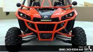 9. 2014 Can-Am Maverick X rs DPS 1000R Red  - RideNow Powers...