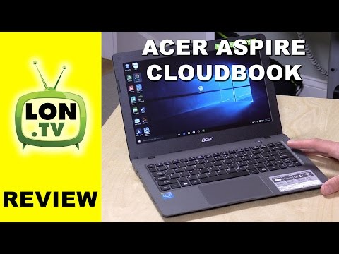 , title : 'Acer Aspire One Cloudbook Review - $189 Low Cost Windows 10 Laptop Notebook PC'