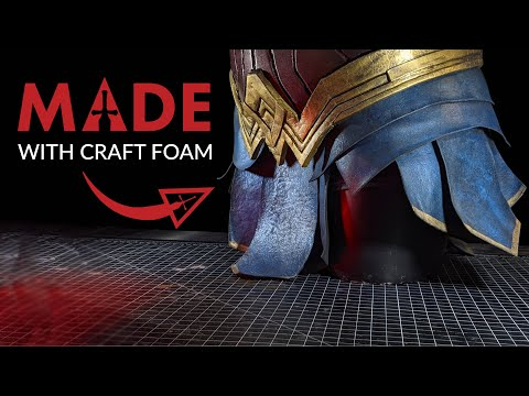 Wonder Woman Cosplay - How To Make Wonder Woman Gladiator Skirt