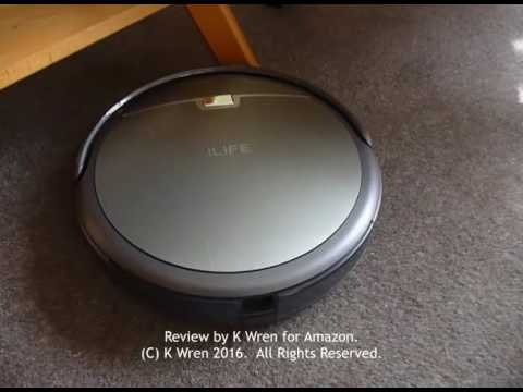 Video review of 'Ivor' the Ilife A4 robot vacuum cleaner