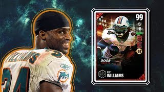 Hello everyone, ChewbaccaLemma here! In today's video we add the best running back in the game! Ultimate Legend Ricky Williams is here and takes over! Let me...