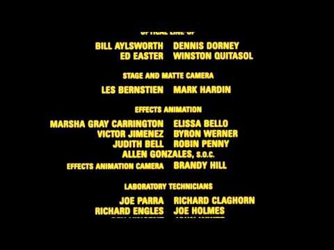 Honey, I Blew Up The Kid (1992) Ending Credits