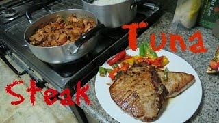 How to Make Tuna Steak