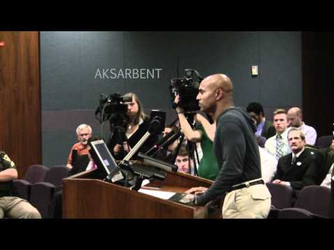 Anti-gay Cornhusker football coach lectures Omaha City Council Video