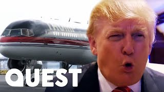 Video Inside Donald Trump's Hundred Million Dollar Private Plane! | Mighty Planes MP3, 3GP, MP4, WEBM, AVI, FLV September 2019
