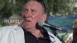 Saransk Russia  City new picture : Russia: Gerard Depardieu opens cultural centre named after him in Saransk
