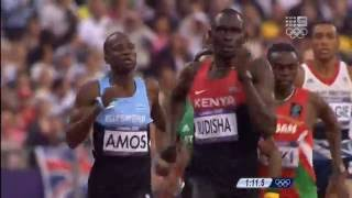 Rudisha 800m World Record 1:40.91