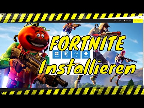 Fortnite Installieren | PC Windows 10 | Tutorial 2019 | Deutsch | EPIC Games Launcher Herunterladen