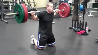 【臀部&下半身の強化】股関節から動かす!「ニーリングスクワット」