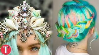 Video 10 MERMAID Inspired Beauty and Fashion Products MP3, 3GP, MP4, WEBM, AVI, FLV Desember 2018
