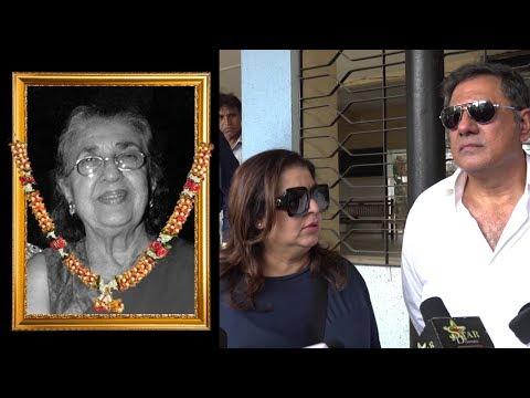 Farah Khan, Boman Irani REACT On Shammi Aunty Deat
