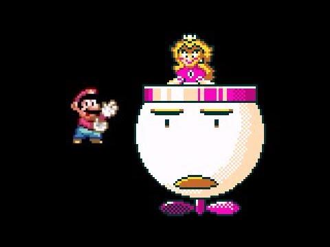 Super Mario World - Peach Final Boss!! HD
