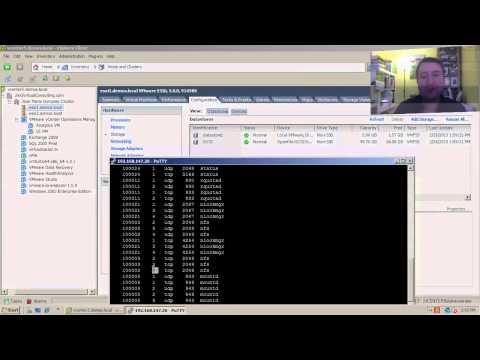 ¿Cómo conectar una LUNs vía NFS/iSCSI en VMware ESXi?