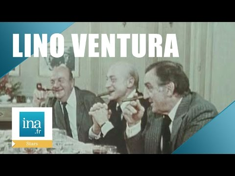 "Lino Ventura ""Aventures gastronomiques avec Jean Gabin et Bernard Blier"" | Archive INA"