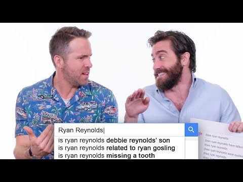 Ryan Reynolds & Jake Gyllenhaal Answer the Web's Most Searched Questions | WIRED (видео)