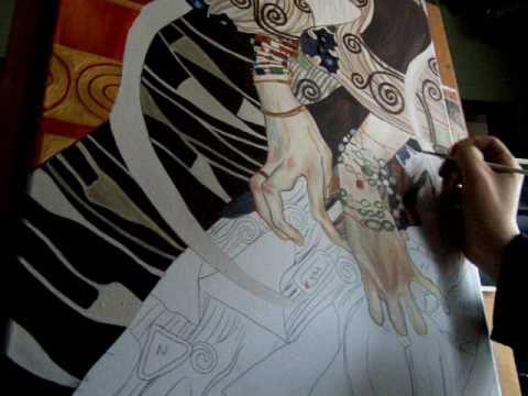 Gouden hoogtepunt Gustav Klimt  in bijzondere setting gepresenteerd