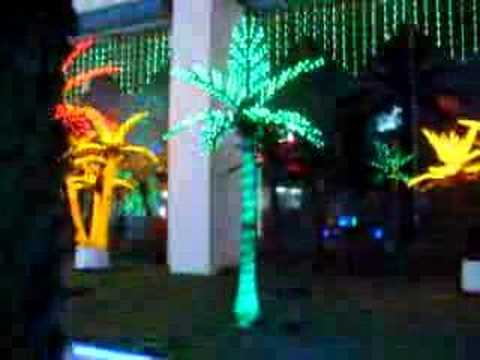 LED palm tree light