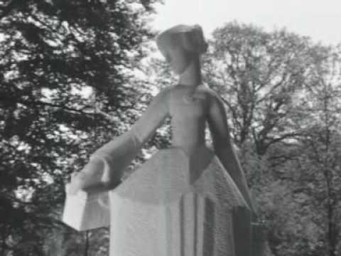 Onthulling Hildebrand-monument 1962