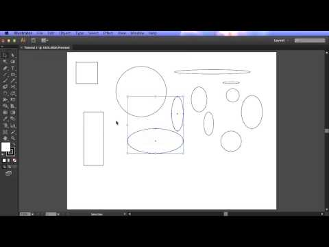 Adobe Illustrator For Scientists #1 - Simple Shapes