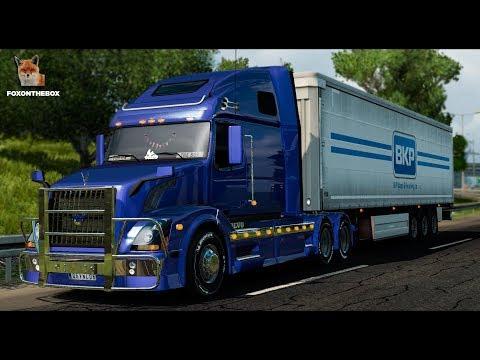 Volvo VNL 670 v1.5.3 by Aradeth [ETS v1.28]