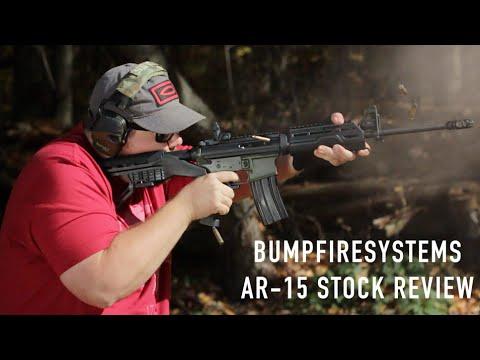 Bump Fire Systems AR-15 Stock - Cheap Thrills, No Frills