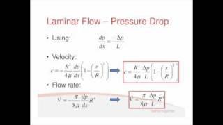 Fluids Lecture 1.3 - Laminar Flow (S2)