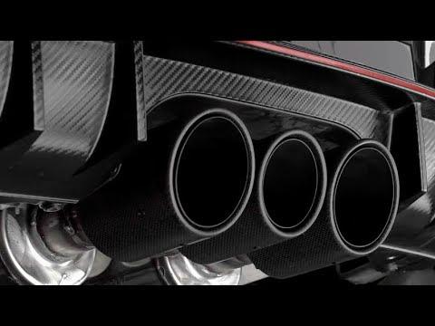 Magnaflow Cat Back Exhaust for 2017 Honda Civic Type R (видео)