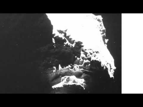UFO News #3: Rosetta mission comet anomalies