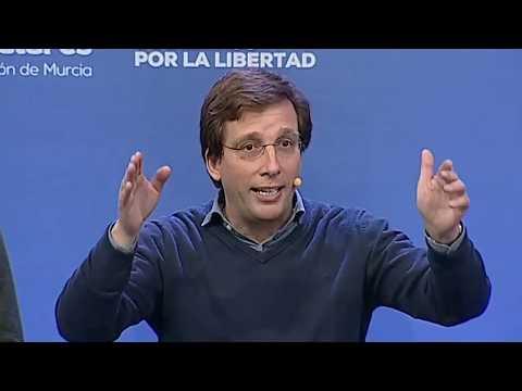 El alcalde de Madrid, Jose Luis Martinez Almeida, interviene en el acto 'Gobiernos por la libertad'