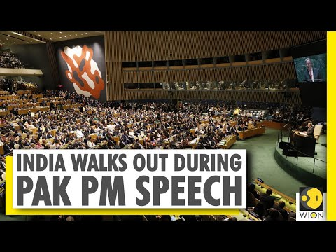 India walks out of UNGA hall over Pakistan PM's speech | World News | WION News