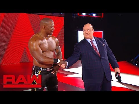 Paul Heyman speaks during Raw's first commercial break: Raw Exclusive, March 11, 2019