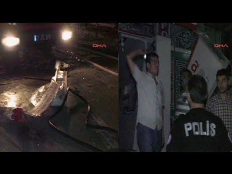 8 قتلى في انفجار بمدينة غازي عنتاب التركية - فيديو