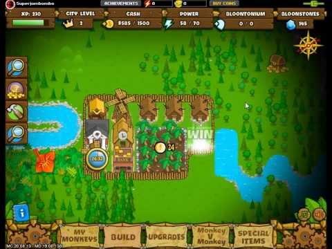 Bloons Monkey City - From Noob to Novice
