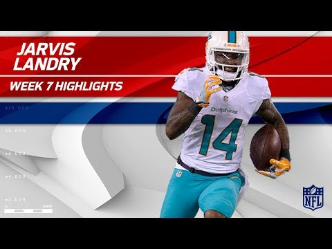 Video: Jarvis Landry Highlights | Jets vs. Dolphins | Wk 7 Player Highlights